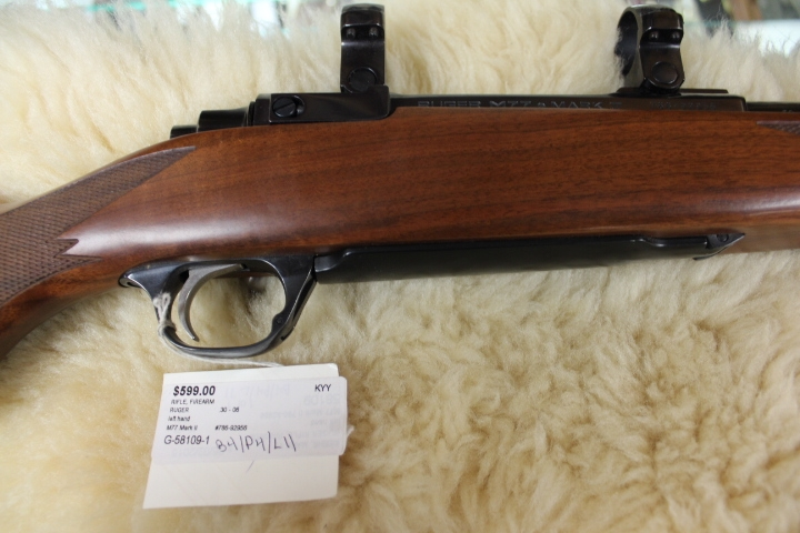 Ruger M77 Mark II .30-06 Bolt Action LEFT HAND Rifle